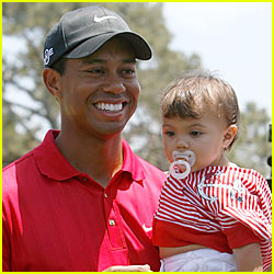 Tiger Woods Son 2015