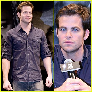 Chris Pine Takes Star Trek To South Korea