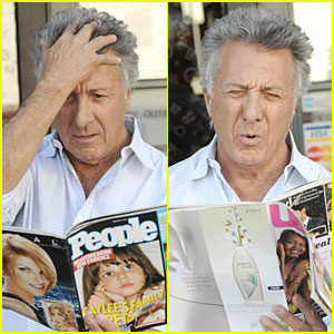 Dustin Hoffman Goes Tabloid Tacky