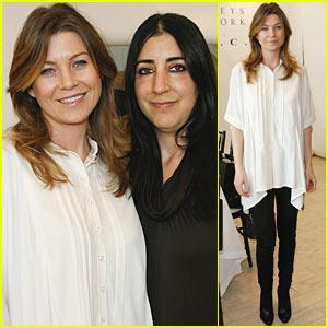 Ellen Pompeo is Lieberman Lovely