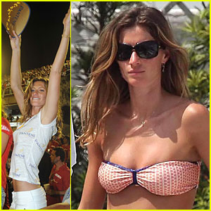 Gisele Bundchen Flaunts Carnival Curves