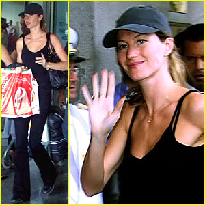 Gisele Bundchen is a Carnival Cutie