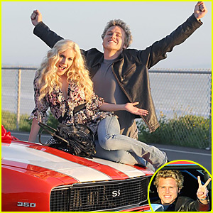 Heidi Montag & Spencer Pratt: Camaro Couple