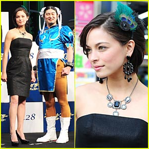 Kristin Kreuk: Street Fighter Hits Japan