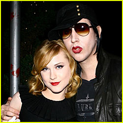 Marilyn Manson & Evan Rachel Wood Reunite