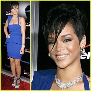 Rihanna: Pre-Grammy Party!