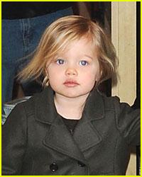 Shiloh Looks Like Baby Brad Pitt?