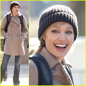 Angelina Jolie: First 'Salt' Set Pictures!