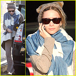 Ashley Olsen Gets Prius Pumped