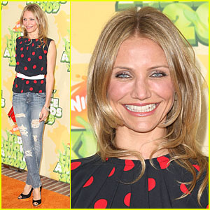 Cameron Diaz - 2009 Kids' Choice Awards