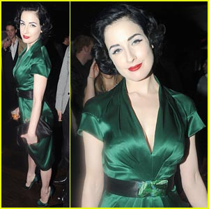 Dita Von Teese is Especially Etoile
