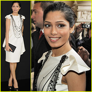 Freida Pinto is Chanel Chic