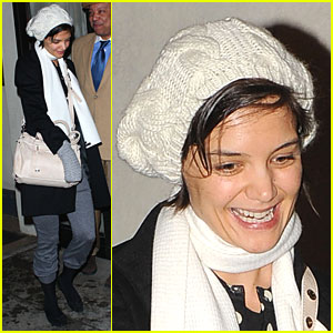 Katie Holmes: Say Cheese!