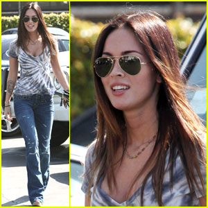 Megan Fox: Tie-Dyed Up at the Spa