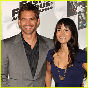 Paul Walker & Jordana Brewster are Speedy in Spain