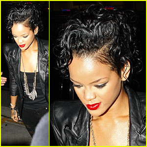 Rihanna Has a Nobu Night
