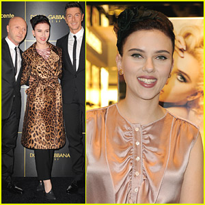 Scarlett Johansson Does Dolce & Gabbana