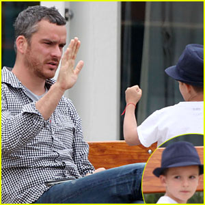 Balthazar Getty is Punchin' With Cassius