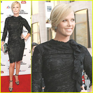 Charlize Theron Looks Lacey Lovable