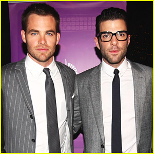 Chris pine zachary quinto interview are you dating down