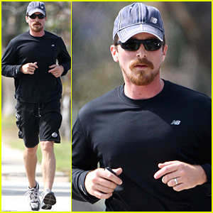 Christian Bale is Jogging Black