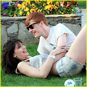 Daisy Lowe & Will Cameron: Coachella Kiss