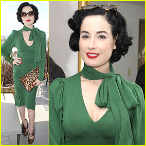 Dita Von Teese Hosts Rachel Pally Party