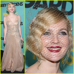Drew Barrymore Premieres Grey Gardens