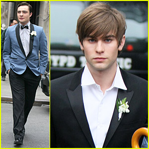 Ed Westwick and Chace Crawford's Finale Fun
