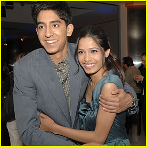 Freida Pinto & Dev Patel Couple Up