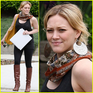 Hilary Duff Sticks To The Script