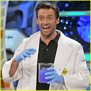 Hugh Jackman is a Mad Scientist