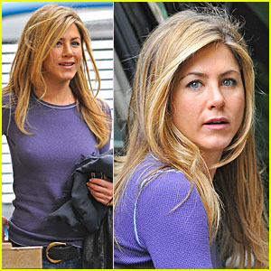 Jennifer Aniston is Pickled Purple
