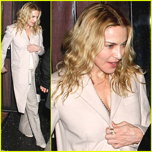 Madonna Is Focused On Friends