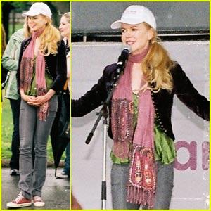 Nicole Kidman Marches For Babies