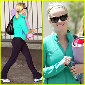 Reese Witherspoon is Maha Yoga Youthful