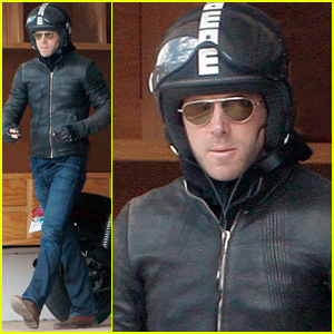 Ryan Reynolds is a Motorcycle Man