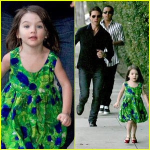Suri Cruise is a Rapid Runaway