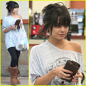 Vanessa Hudgens Gets Fringe Fancy