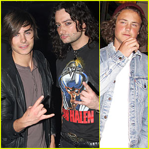 Zac Efron Recommends Rock Of Ages