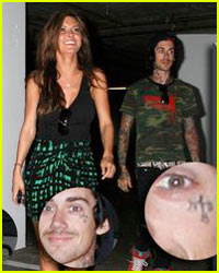 Audrina Patridge Digs Facial Tattoos
