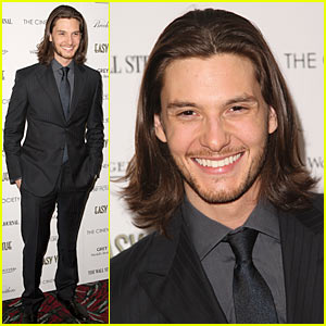 Ben Barnes Premieres 'Easy Virtue'