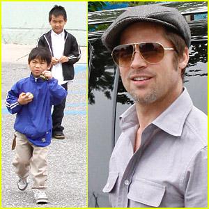 Brad Pitt's Sons See Star Trek