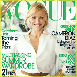 Cameron Diaz Covers Vogue June 2009