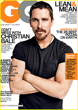 Christian Bale Covers GQ June 2009