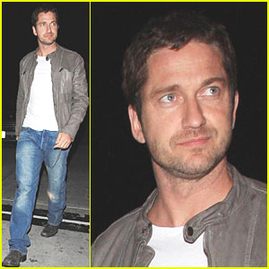 Gerard Butler is Ready for Teddy