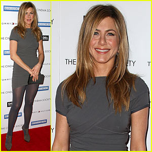 Jennifer Aniston Brings Management To NYC