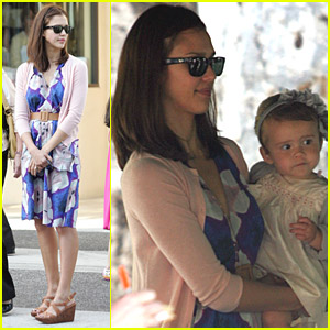 Jessica Alba Celebrates Mother's Day