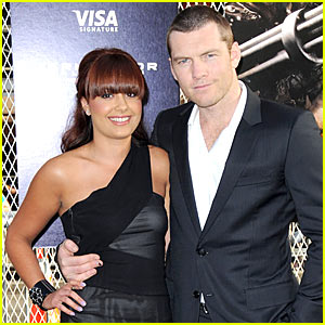 Sam Worthington & Natalie Mark: Terminator Couple