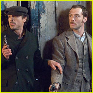 'Sherlock Holmes' Movie Stills -- FIRST LOOK!